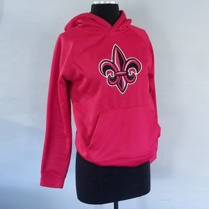 Ragin' Cajuns Red Youth Hoodie